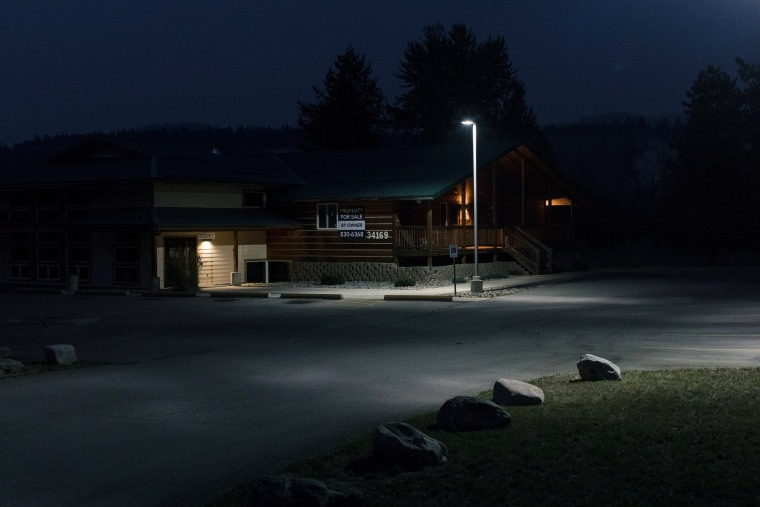 Image: The recently closed Western Montana Health Center in Libby