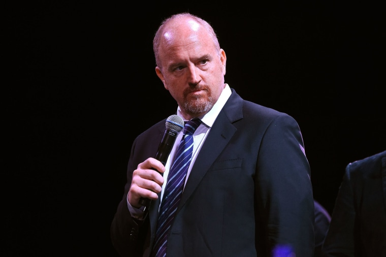 Image: Louis C.K. on stage