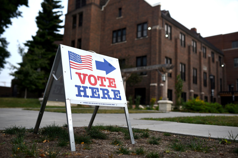 Image: Minnesota Primary Voters Head To The Polls
