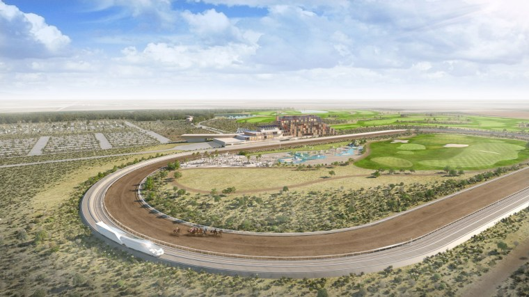 Image: Proposed new race track in New Mexico