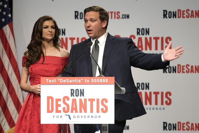 Image: Florida Republican gubernatorial candidate Ron DeSantis
