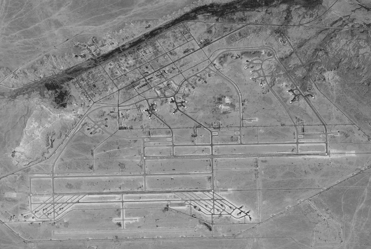 Image: al Asad Airbase in Anbar Province