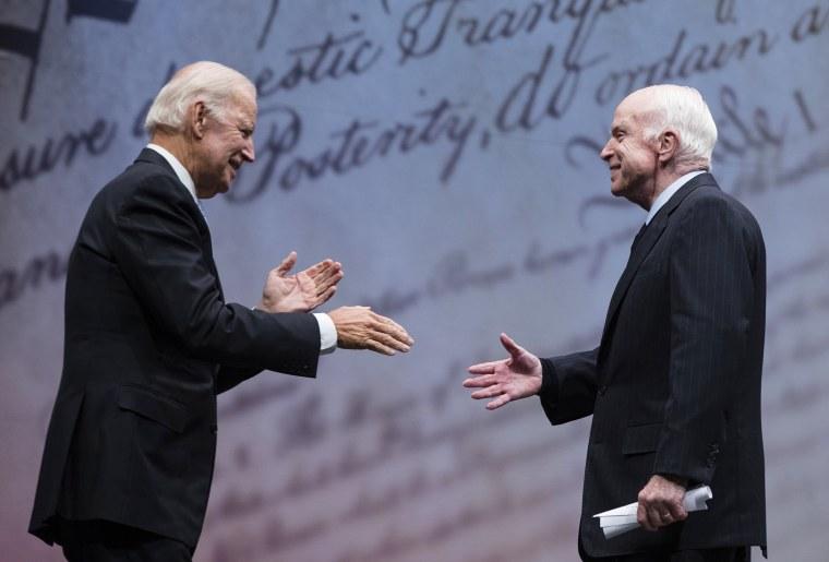 Image: Joe Biden, John McCain