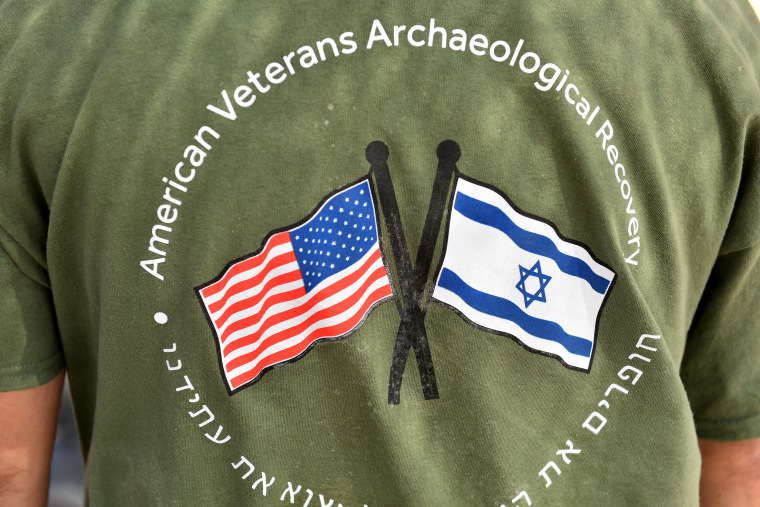 Image: American Veterans Archaeological Recovery program