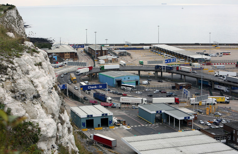 Image: Dover is Europe's busiest ferry port