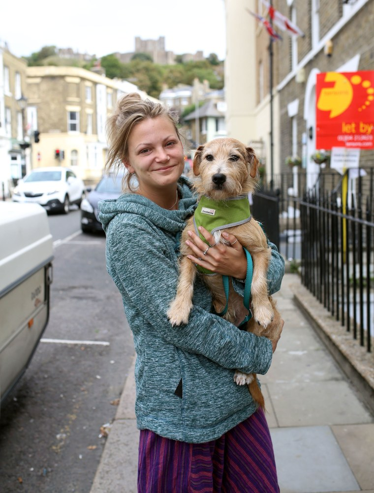 Image: Darcy Tilney voted to remain in the E.U.