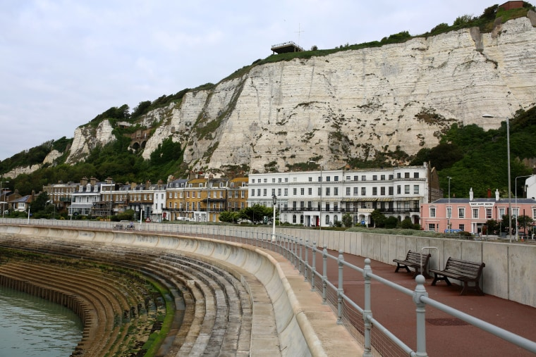 Image: Dover's white cliffs are immortalized in song.