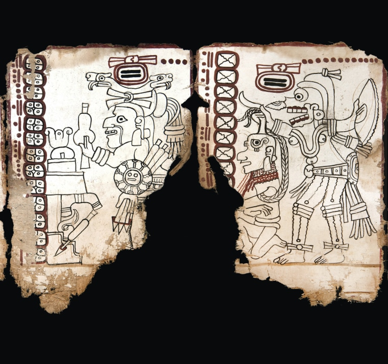 Experts in Mexico confirm nearly 1,000-year-old Mayan text is real