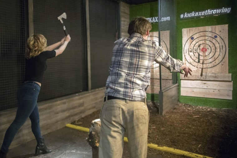 Image: Kick Axe Throwing