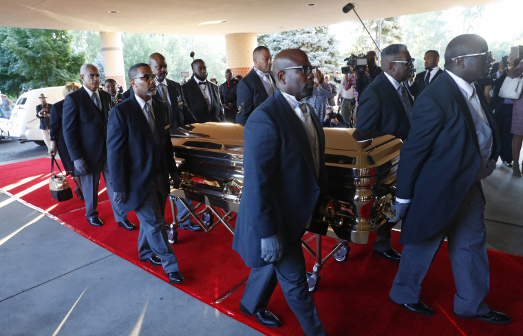 Image: Aretha Franklin funeral