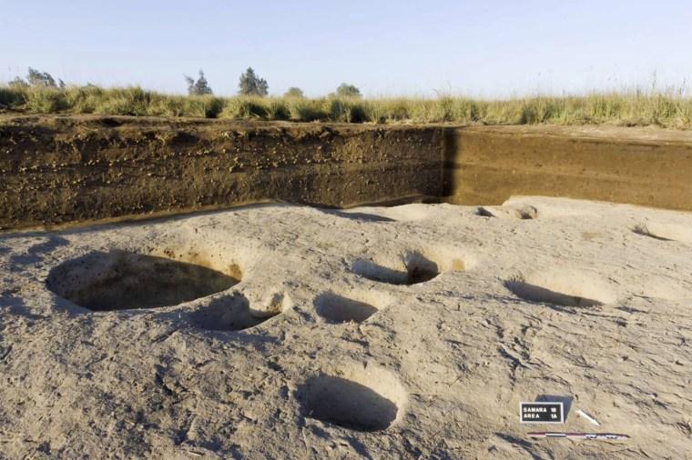 Image: Egypt oldest village