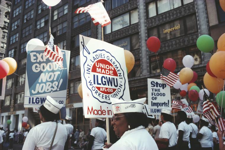 ILGWU March