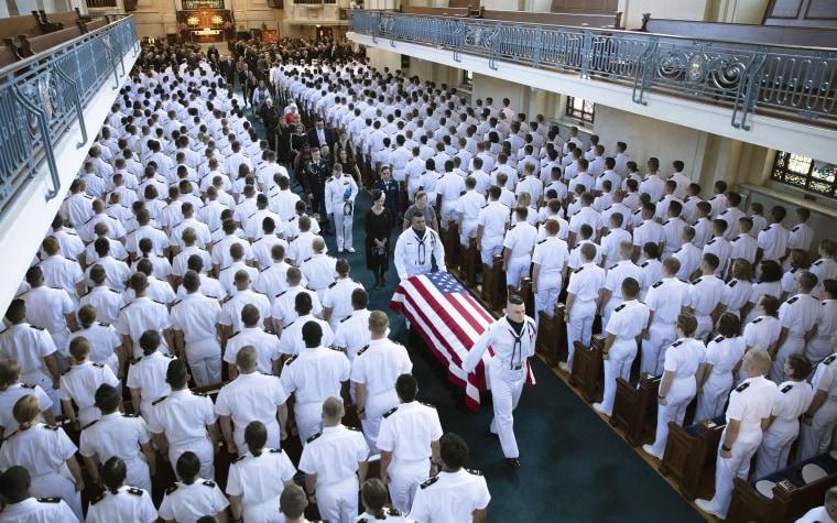 Image: Senator John McCain funeral