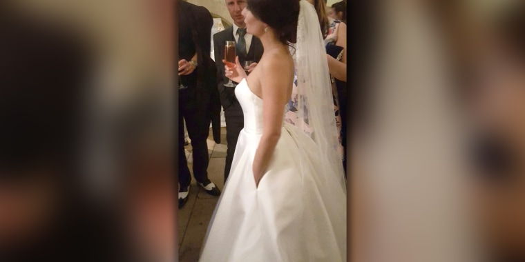 People Are Freaking Out Over This Wedding Dress With Pockets