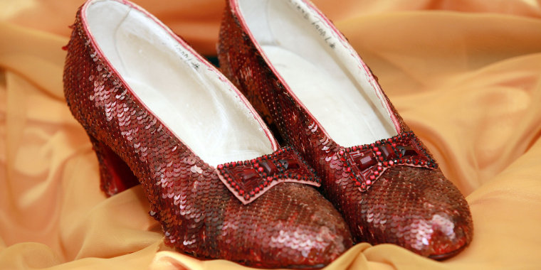 Dorothy's ruby slippers have been found