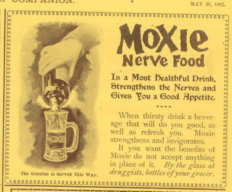 Moxie, the state soft drink of Maine, was invented in 1885.