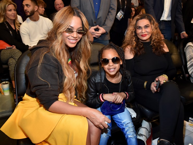 Tina Knowles posted a cute throwback pic of her daughter today in honor of her 37th birthday