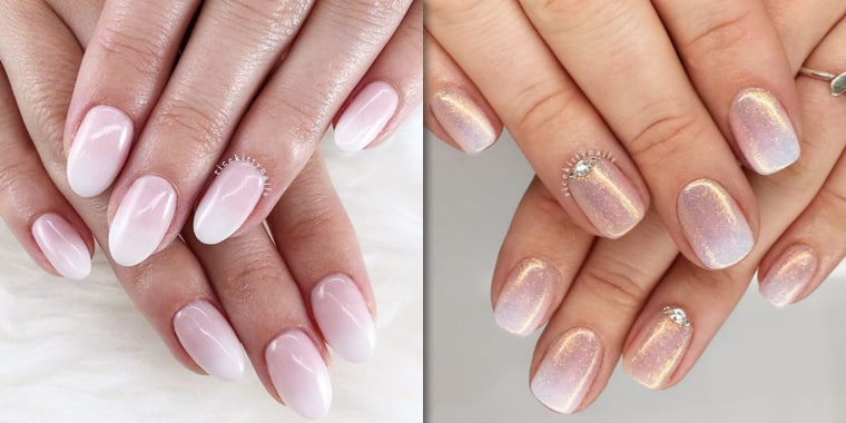 Baby boomer nails' are the modern French manicure