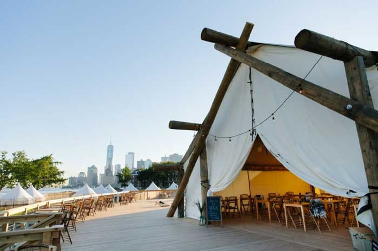Collective Retreats Governors Island