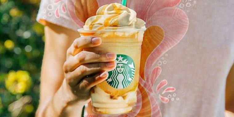 TODAY Food photo for reduced sugar Frappuccino