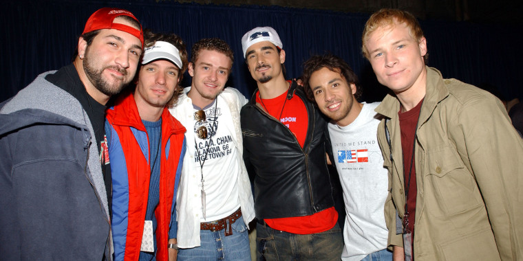 Backstreet Boy Brian Littrell's anniversary dessert had a saucy message for 'NSYNC