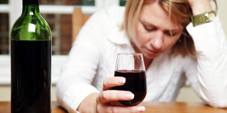 Woman with Alcohol