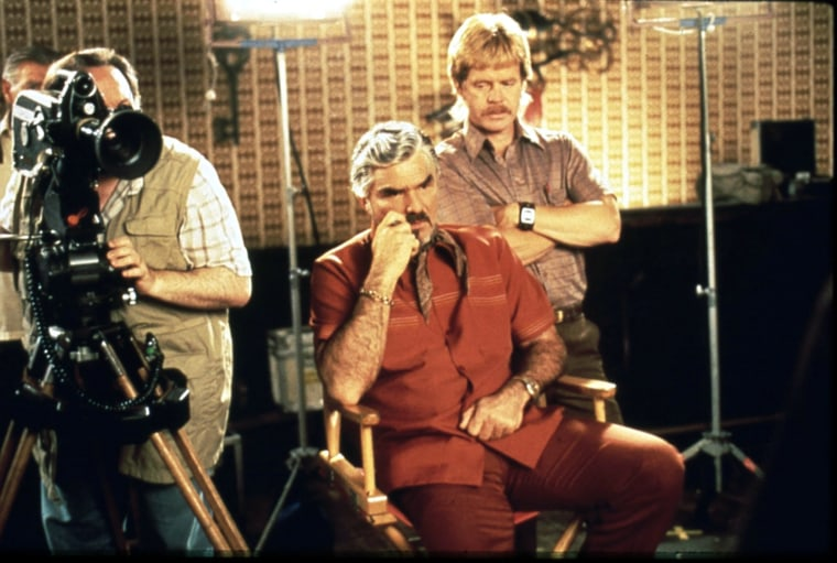 BOOGIE NIGHTS BURT REYNOLDS, WILLIAM H MACY