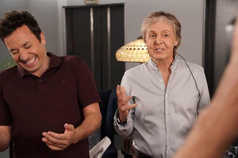 Paul McCartney/Jimmy Fallon