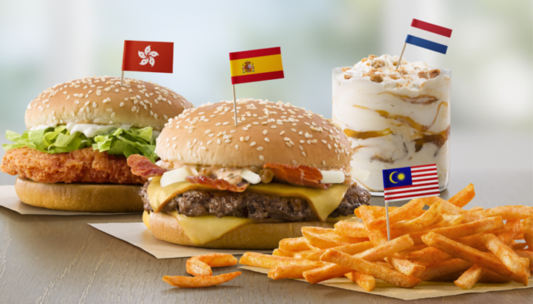 McDonald's Flavors From Abroad