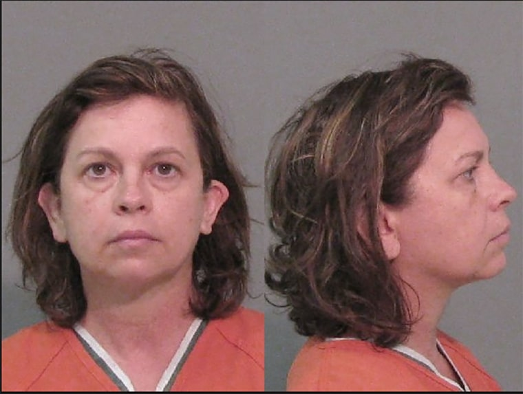 Image: Lana Clayton, 52, of Clover, South Carolina, is charged with murder and malicious tampering with a drug product or food.