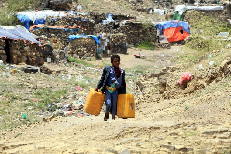 Image: Internally Displaced Persons Camp in Sana'a