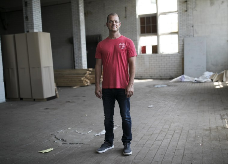 Image: Kevin Lykens, the owner of the Budd Dairy Hall