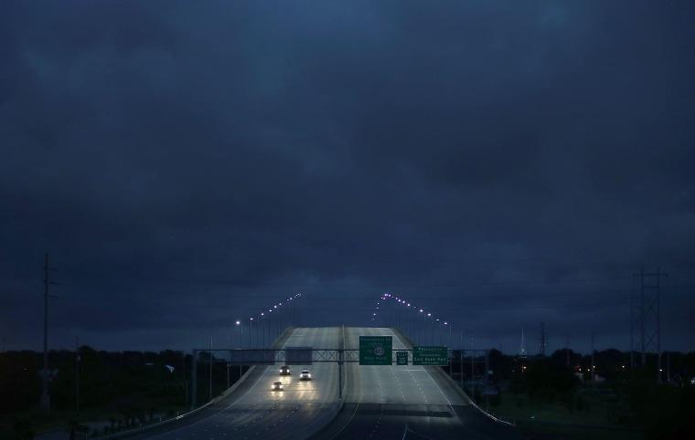 Center of Tropical Storm Gordon made landfall near Alabama-Mississippi border
