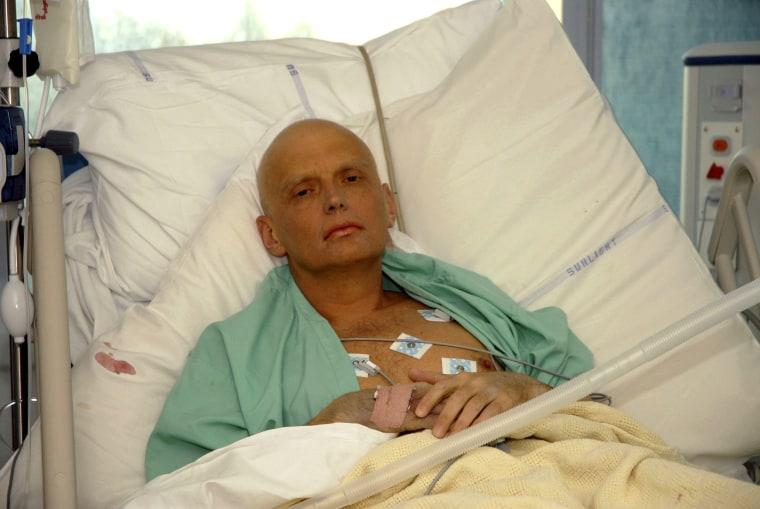 Image: Alexander Litvinenko in 20006