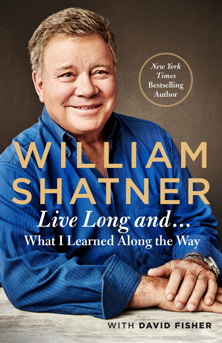 "Image: William Shatner's new book  ""Live Long And ...: What I Learned Along the Way"""