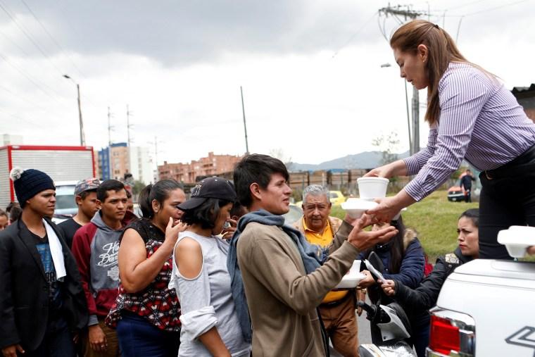 Image: Venezuelan migrants