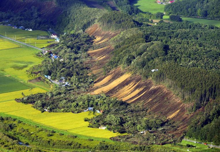 Image: Strong 6.7 magnitude earthquake hits Hokkaido