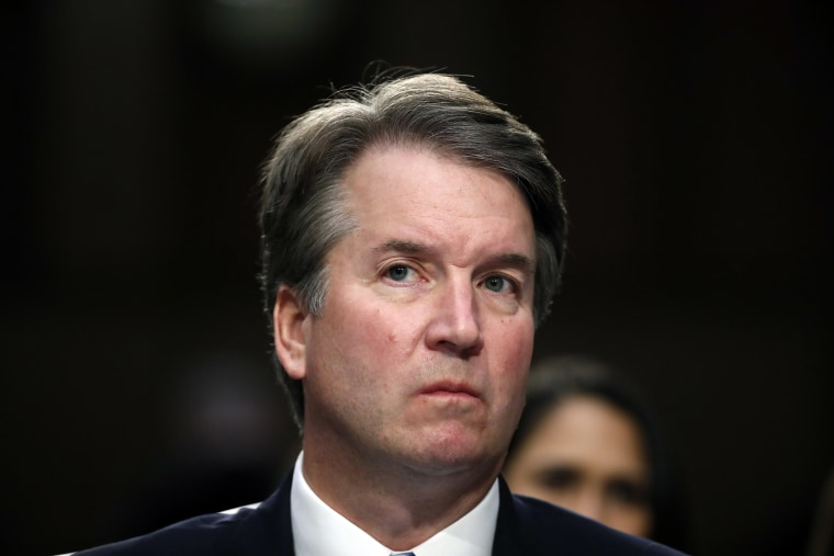 Image: President Donald Trump's Supreme Court nominee Brett Kavanaugh