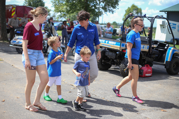 Image: Democratic candidate for Congress Amy McGrath