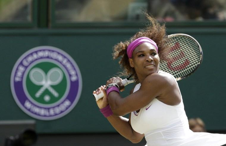Image: Serena Williams Wimbledon 2012