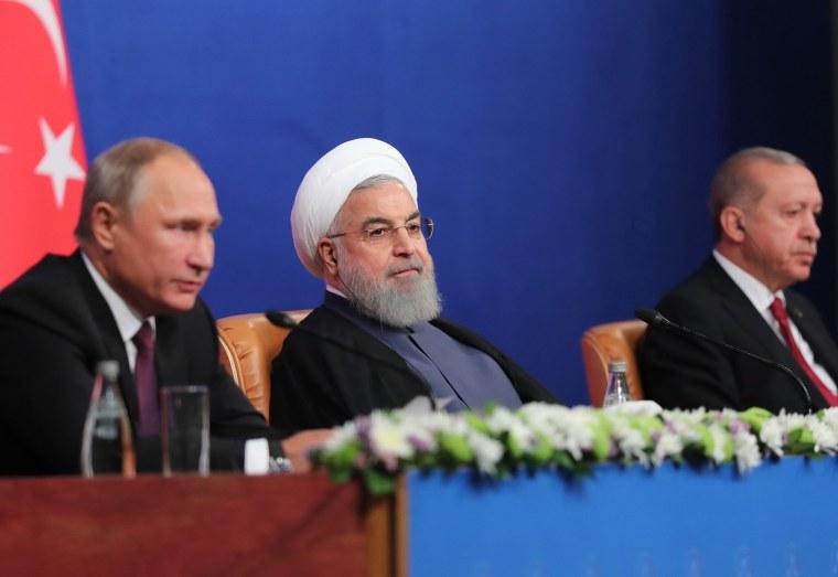 Image: IRAN-TURKEY-RUSSIA-SYRIA-CONFLICT-SUMMIT