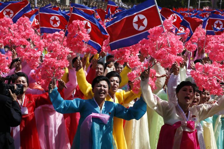 Image: North Koreans