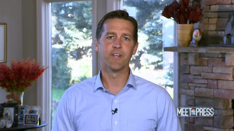 GOP Sen. Ben Sasse: 'Too much drama' coming out of 'reality-show' presidency