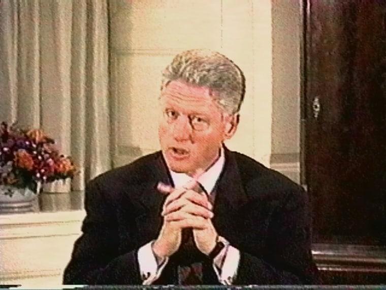 Image: Bill Clinton grand jury deposition
