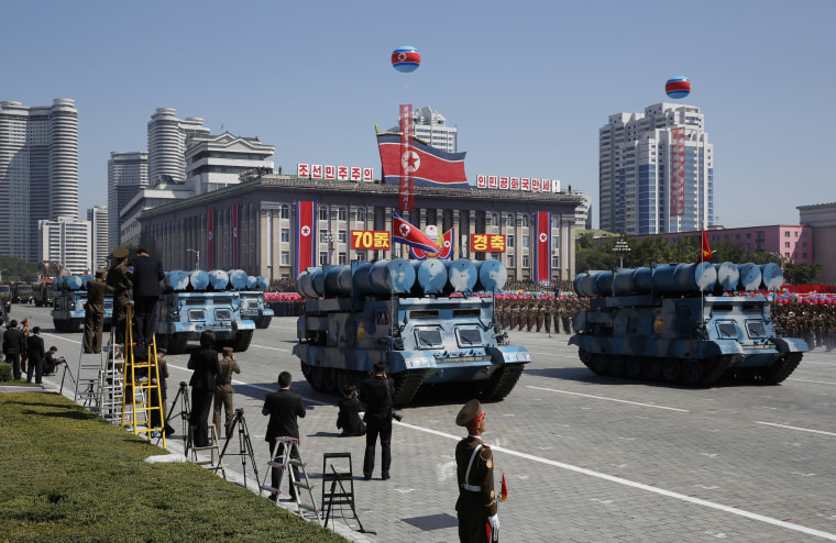 Image: North Korea National Day parade