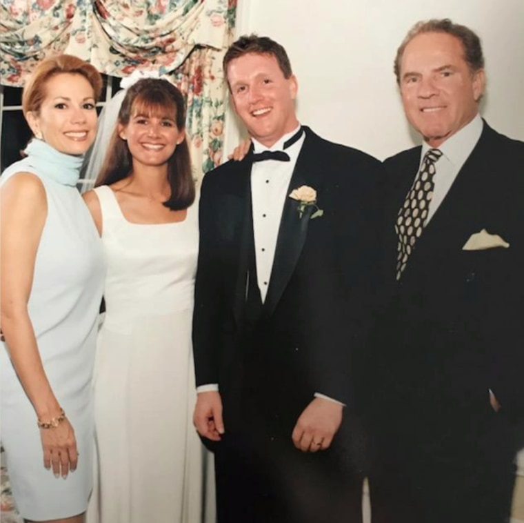 Kathie Lee and Frank Gifford at the wedding of her former assistant, Taryn McHale.