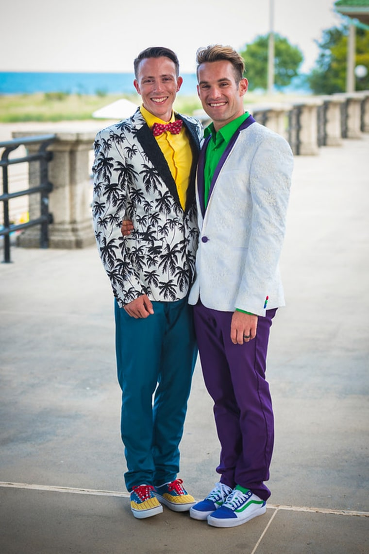 ... and then again with their suits!