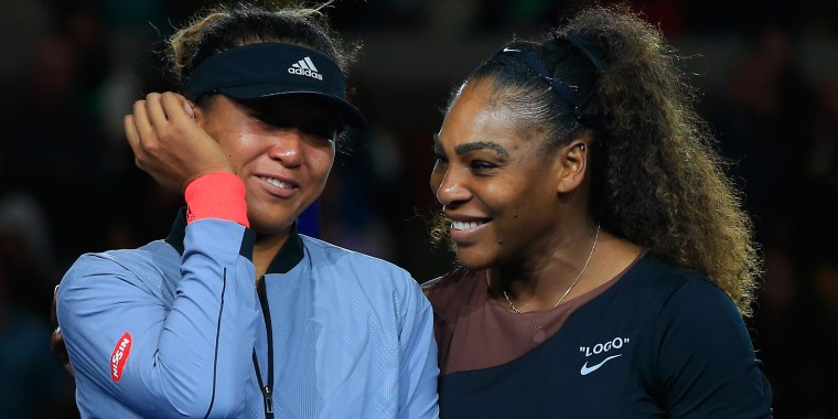 Here's what Serena whispered to Naomi Osaka after U.S Open final
