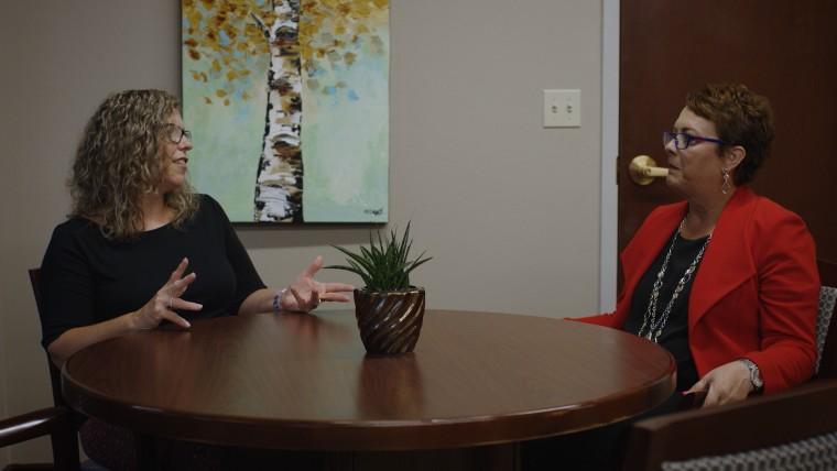 Oklahoma City bombing survivors Amy Downs and Terri Talley