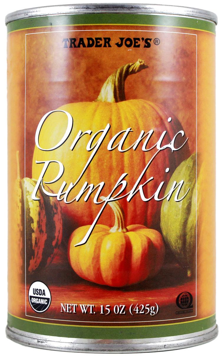 Trader Joe's Organic Canned Pumpkin